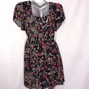 Torrid floral tunic/mini dress babydoll